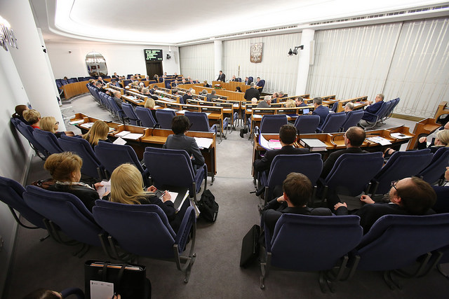ustawa o elektromobilności - posiedzenie senatu