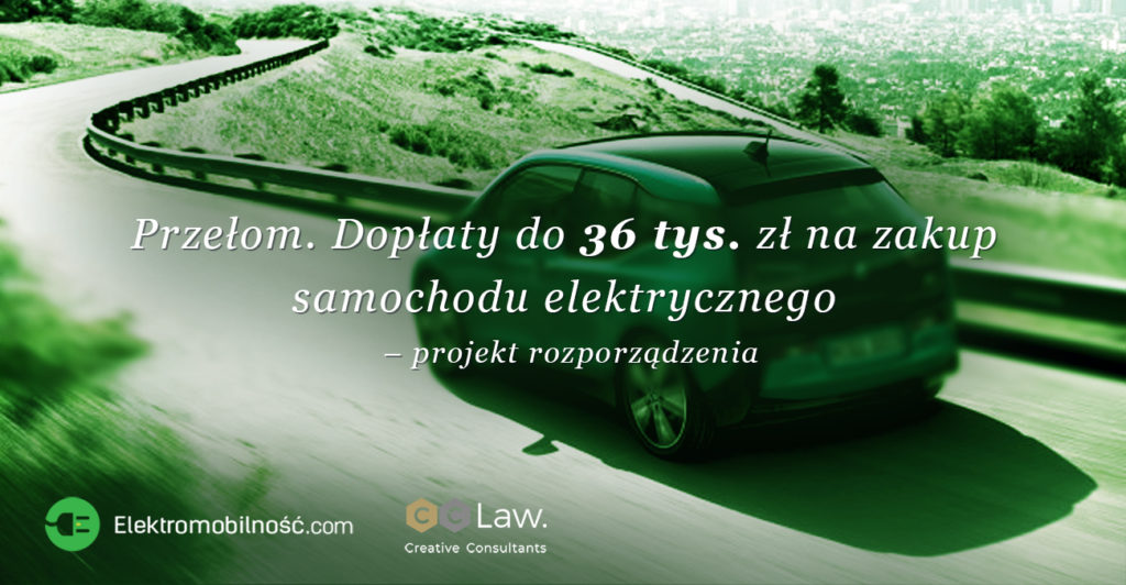 dopłaty do zakupu samochodów elektrycznych